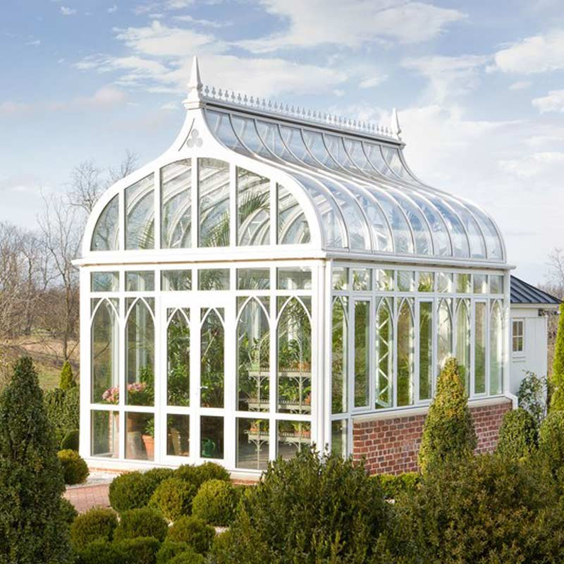 Victorian Greenhouse and the Glass Greenhouse (PICTURES)