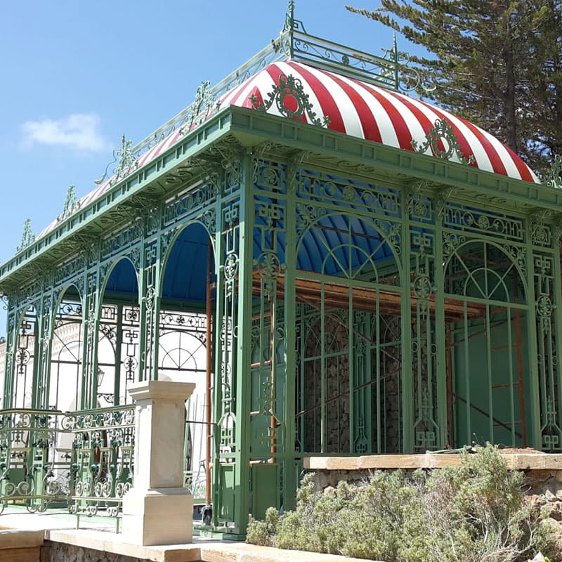 Royal Victorian Antique Orangerie Glass Greenhouse | eBay