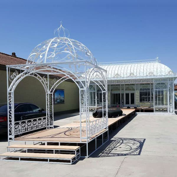 modern four season sunroom for wedding ceremony-Fine Art ...