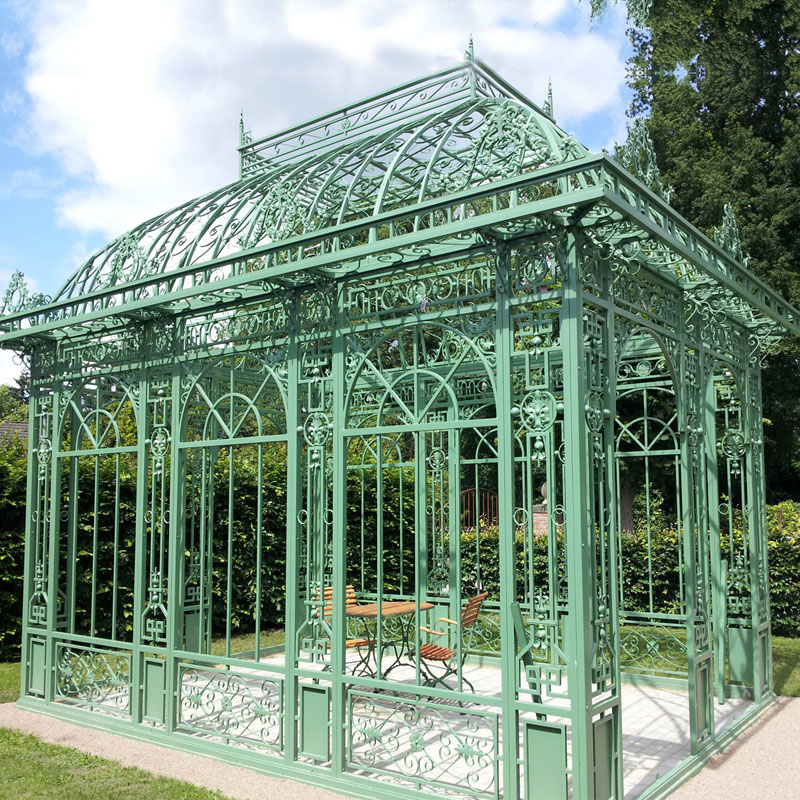 ireland victorian all season greenhouse dining room- Fine Art ...