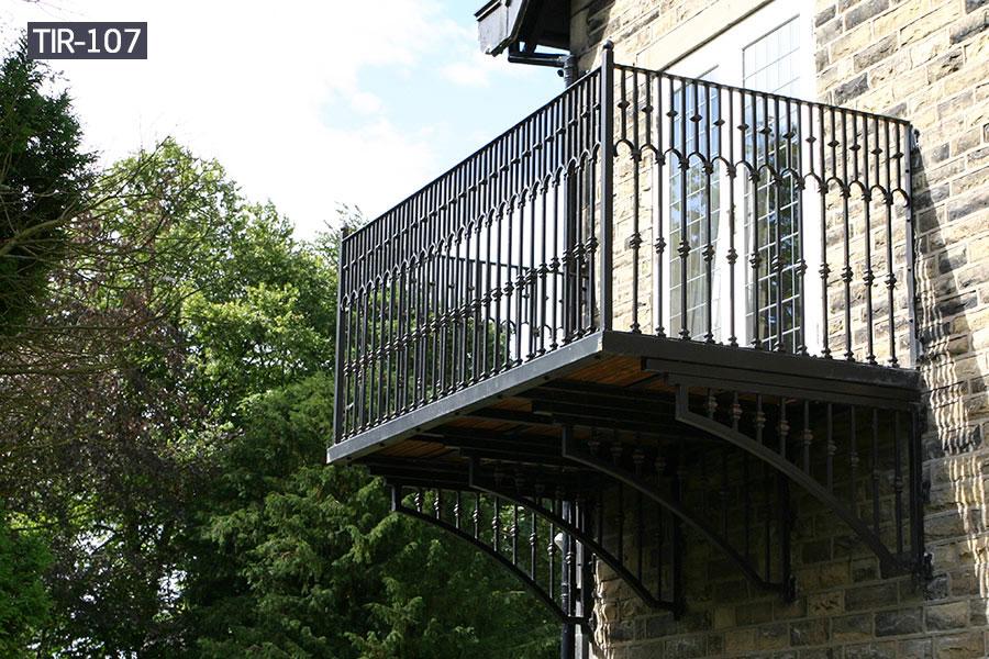 Window balcony metal iron railing modern design