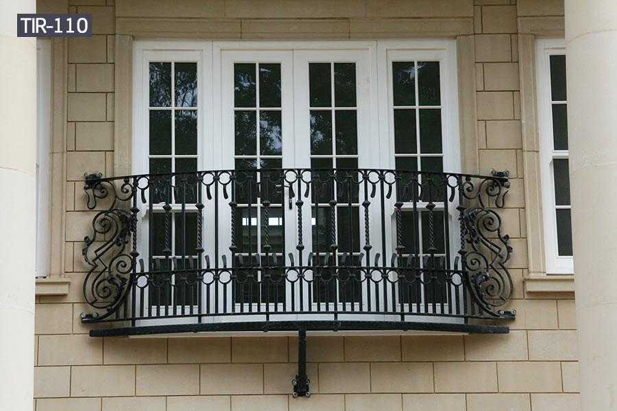 House outdoor decorative wrought iron juliette balcony railing designs