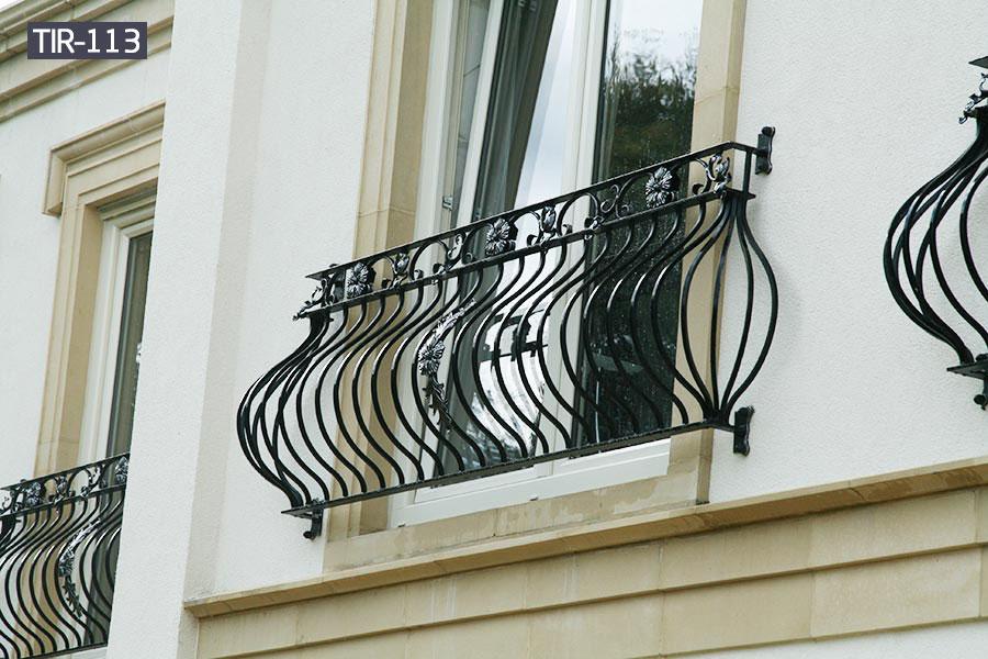 Contemporary window balcony railing for home designs outdoor