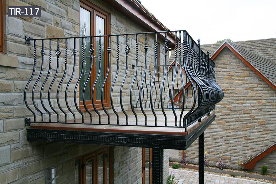 Home using simple metal iron balcony railings for sale