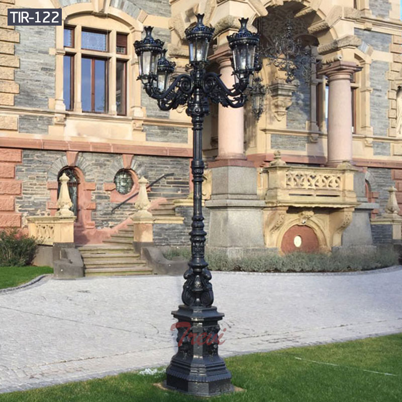 Commercial lamp posts outdoor lighting for sale