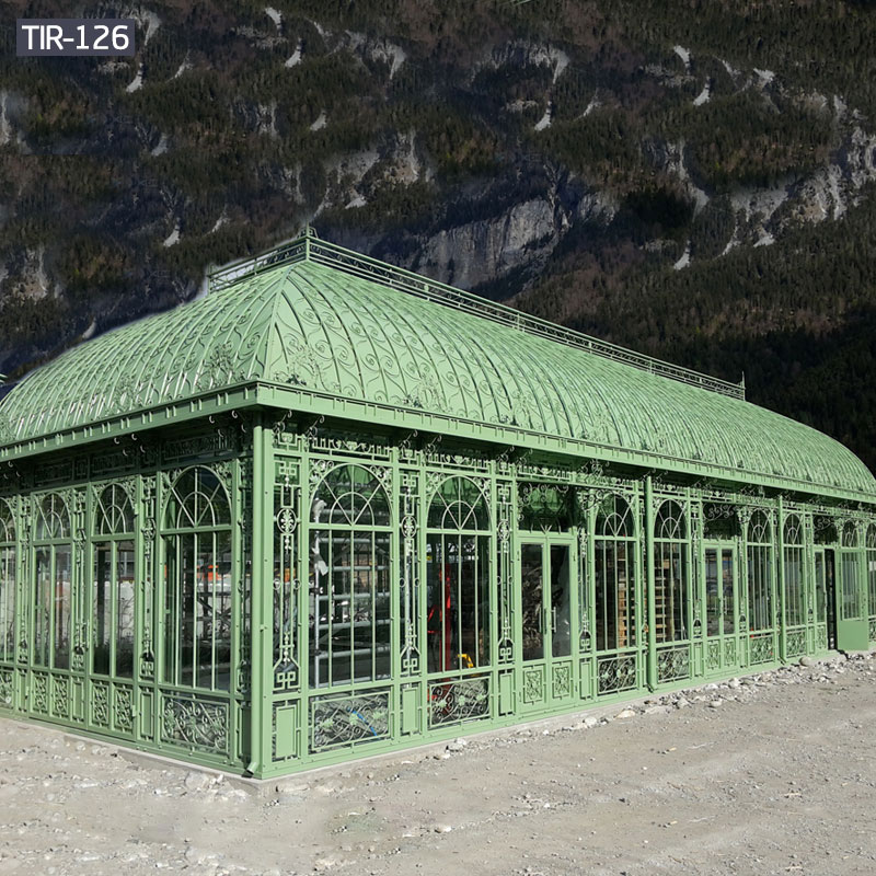 large metal iron hotel gazebos for sale