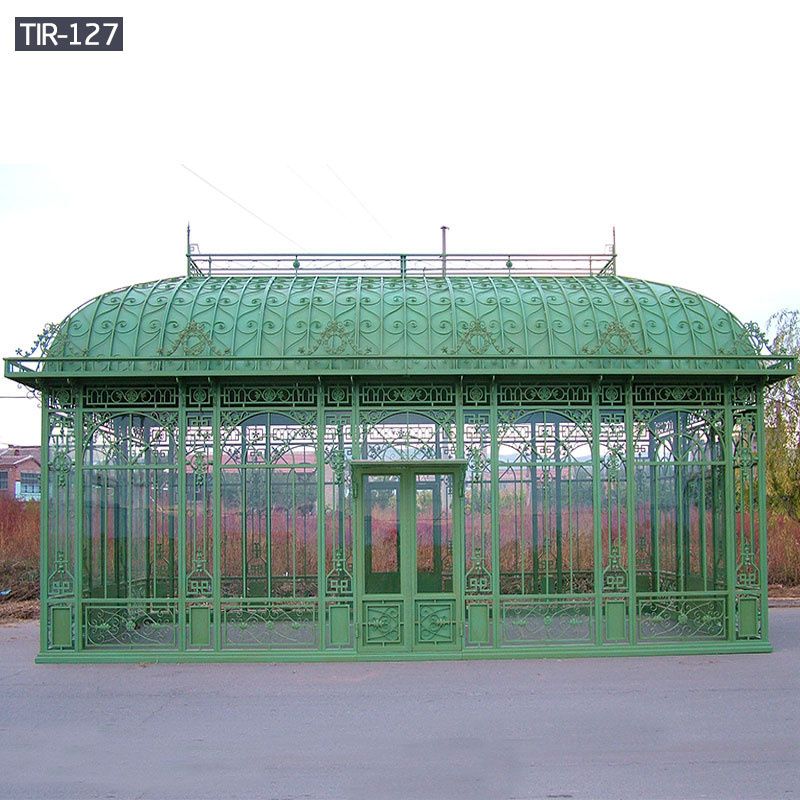 Large ornamental wrought iron gazebo for sale