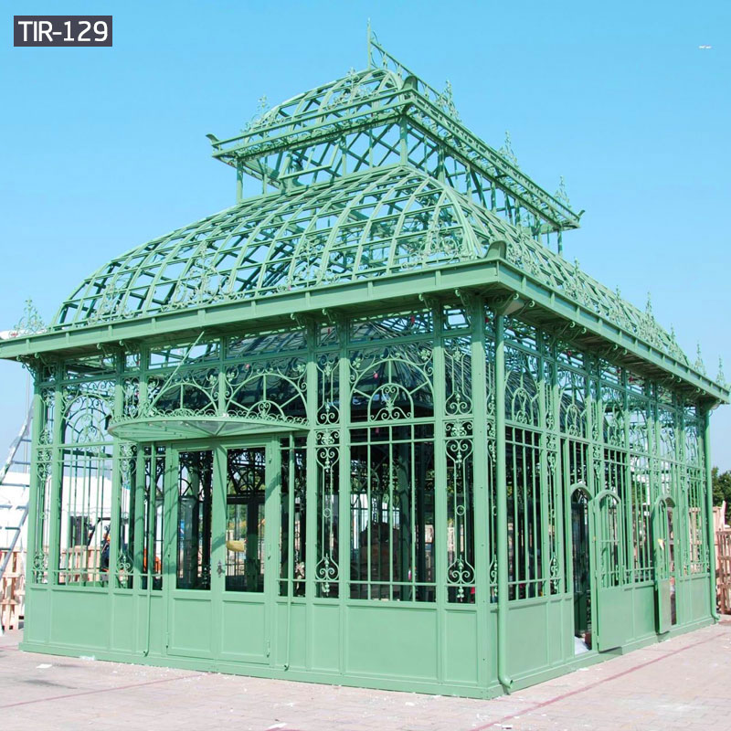 Garden big wrought iron gazebo for sale