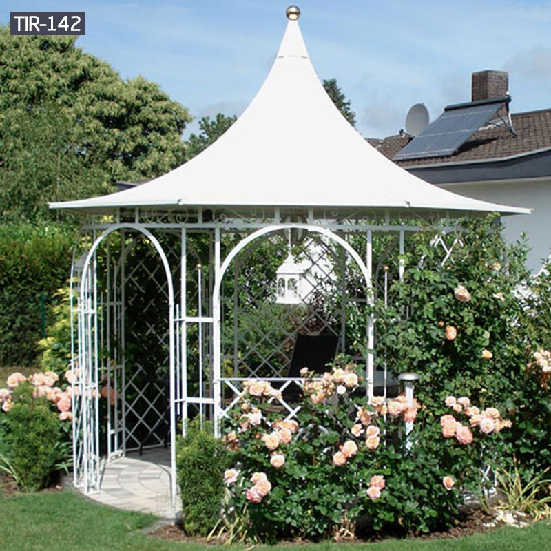 Hardtop metal garden gazebo for sale