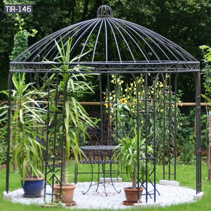 Find metal flower house gazebos for sale