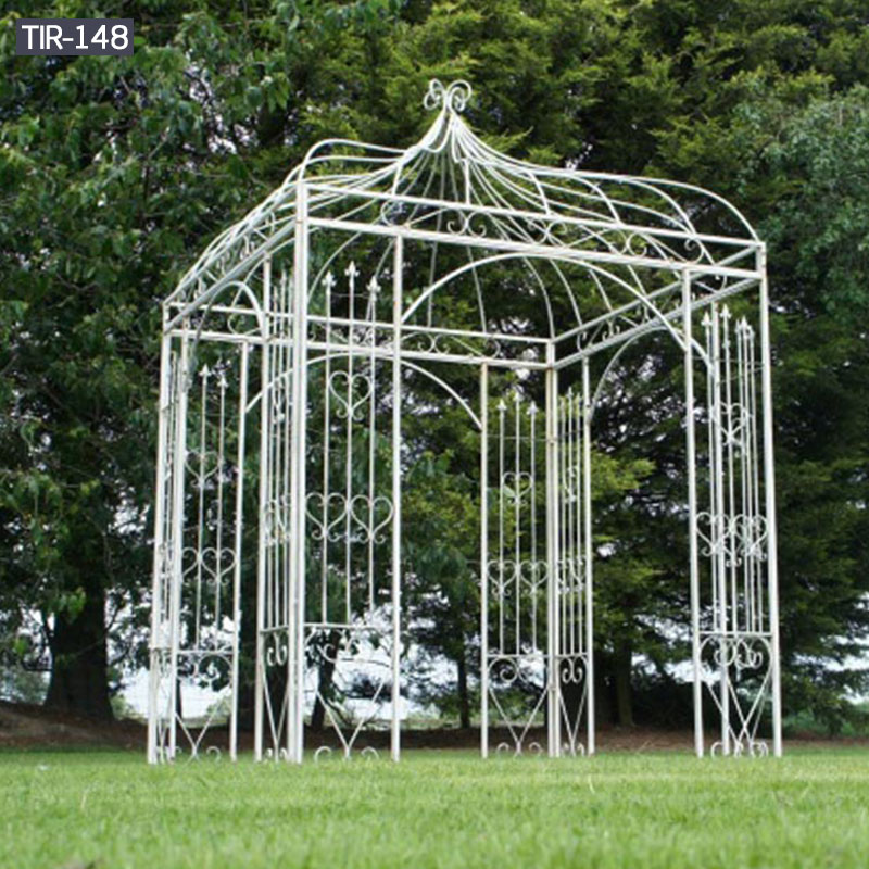 Outdoor iron garden gazebo for sale