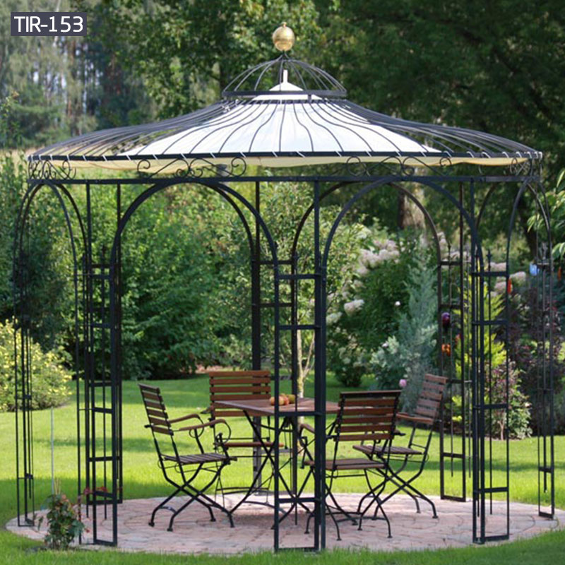 Outdoor garden gazebo metal simple designs