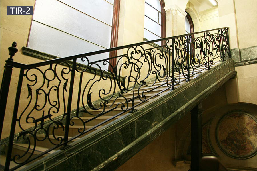 Indoor house iron stair railing for sale