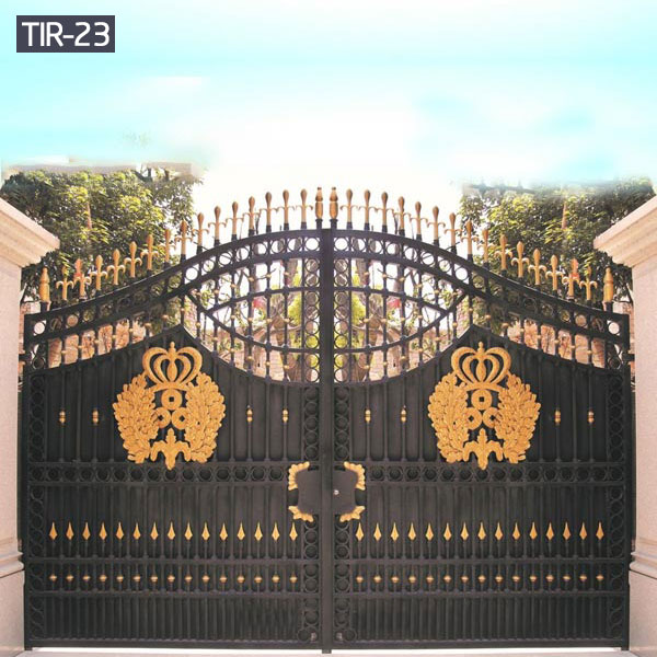 Sliding driveway wrought iron gates for sale