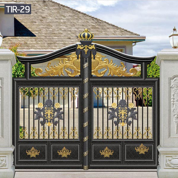Wrought iron home gate small