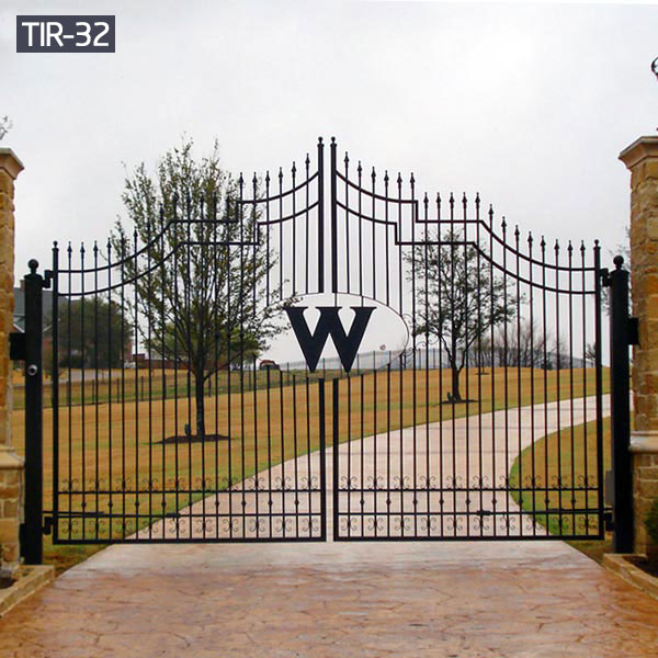 Custom made metal front garden gates designs