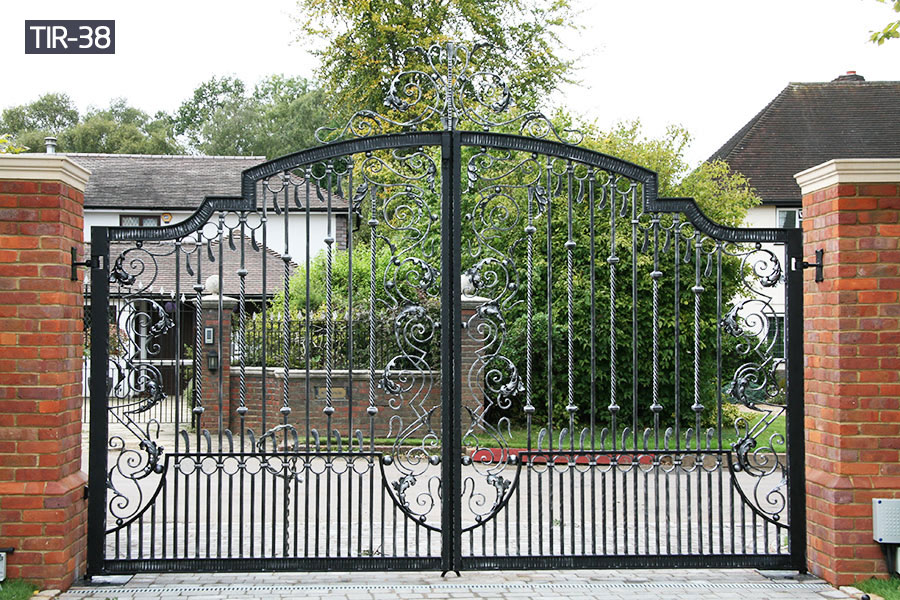 Metal security main gates for home