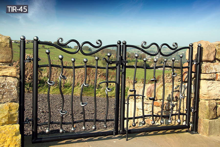 Decorative metal garden gates for sale