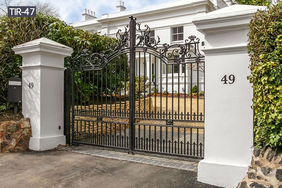 Buy driveway entry gates wrought iron