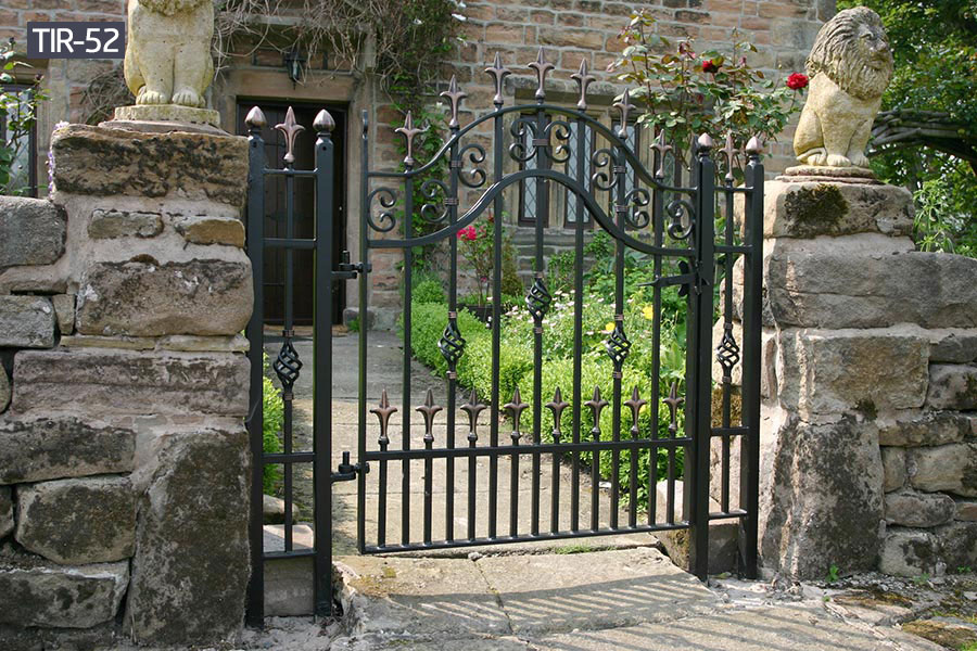 Small wrought iron home gates designs