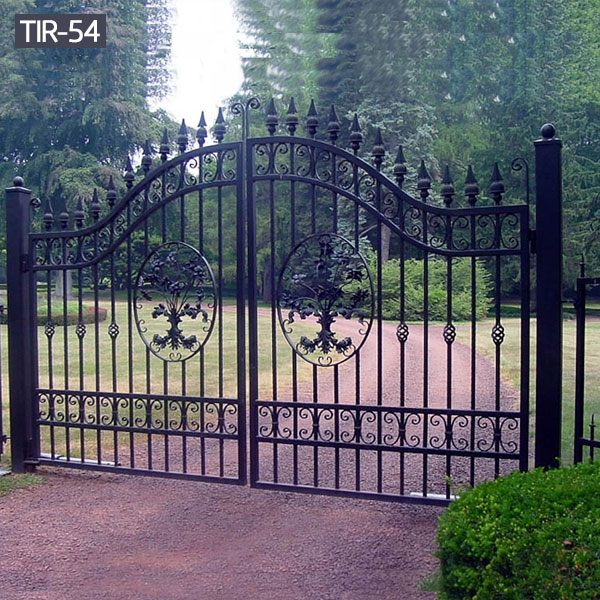 Exterior garden metal driveway gates for sale