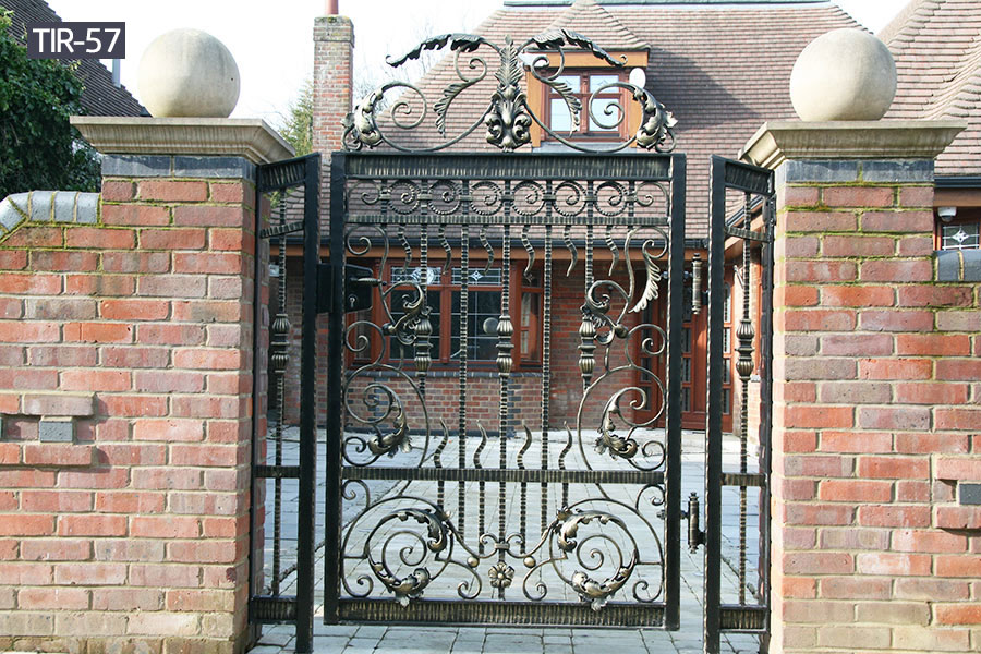 Side yard wrought iron gates for sale