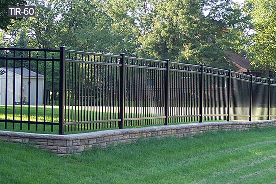 Outdoor wrought iron garden fencerailing for sale