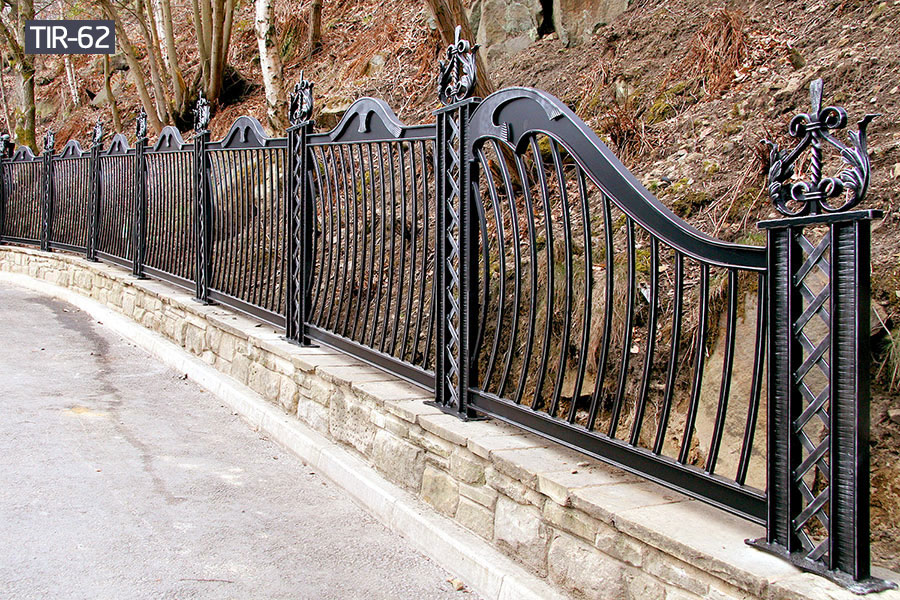 Wrought iron outdoor fencerailing designs costs