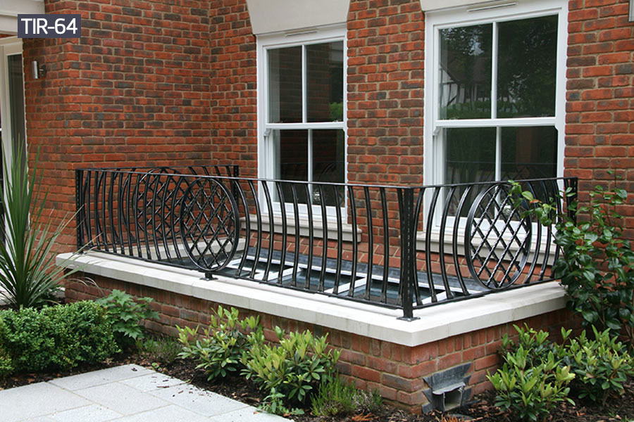 Outdoor metal wrought iron railing fence price
