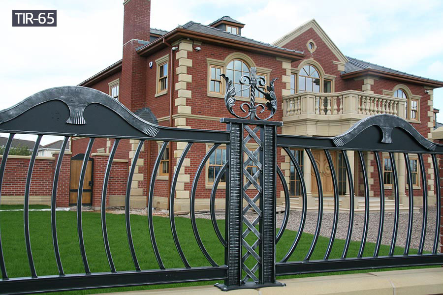 House decorative wrought iron fencerailing for sale