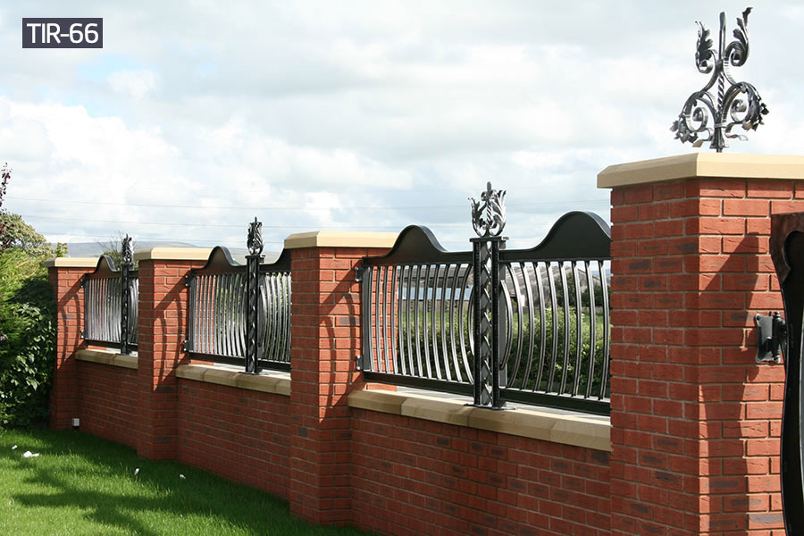 Outdoor wrought iron fencing railing for sale