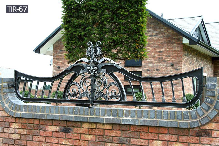 Decorative wrought iron fence panelshouse outdoor