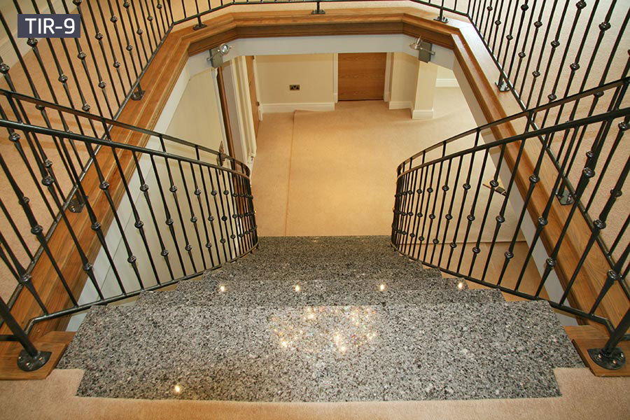 Home interior metal open staircase railing for sale